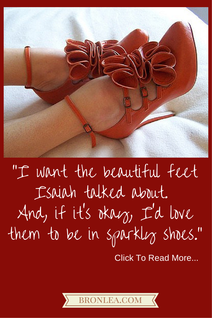 For The Love of Shoes, and Jesus