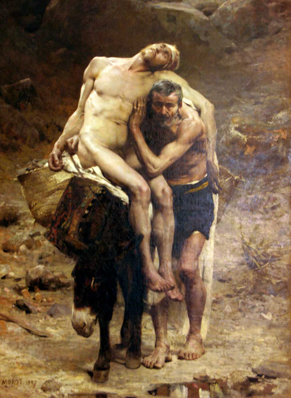 AN Morot - The Good Samaritan