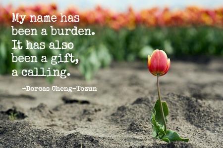 Lone Tulip Dorcas