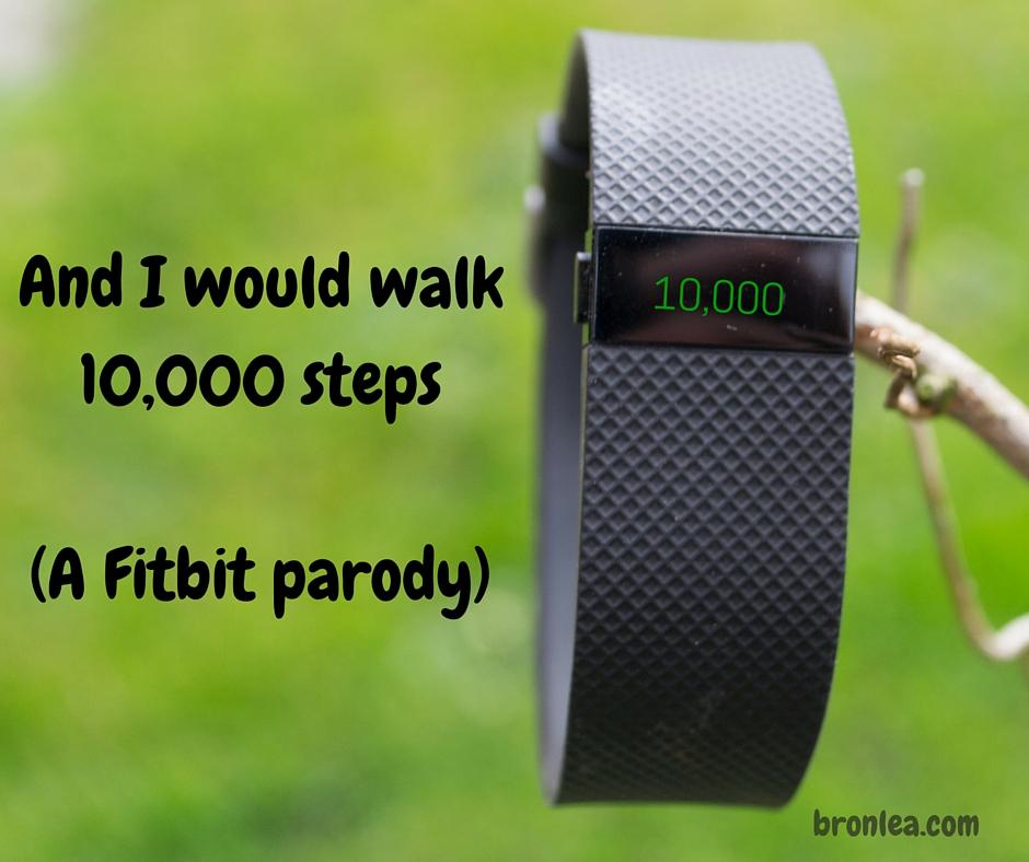 Fitbit 500 miles parody
