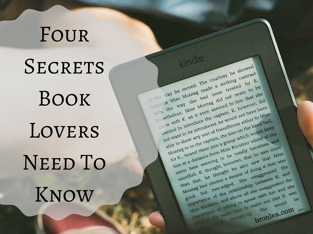 Four Secrets Book Lovers Need To Know