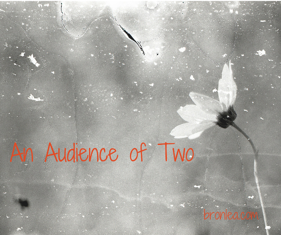 An Audience of Two