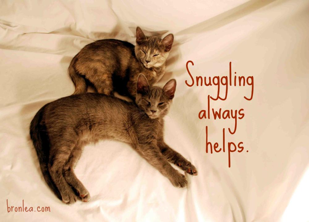 Snuggling Always Helps