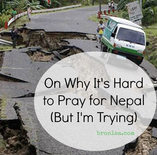 Hard to Pray for Nepal