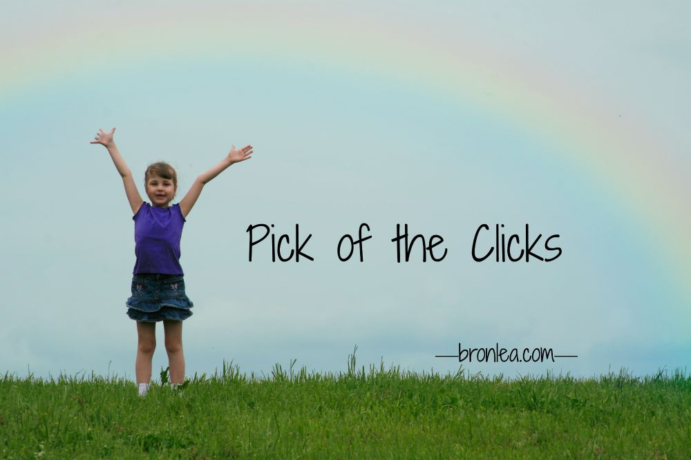 PICK OF THE CLICKS JOY rainbow