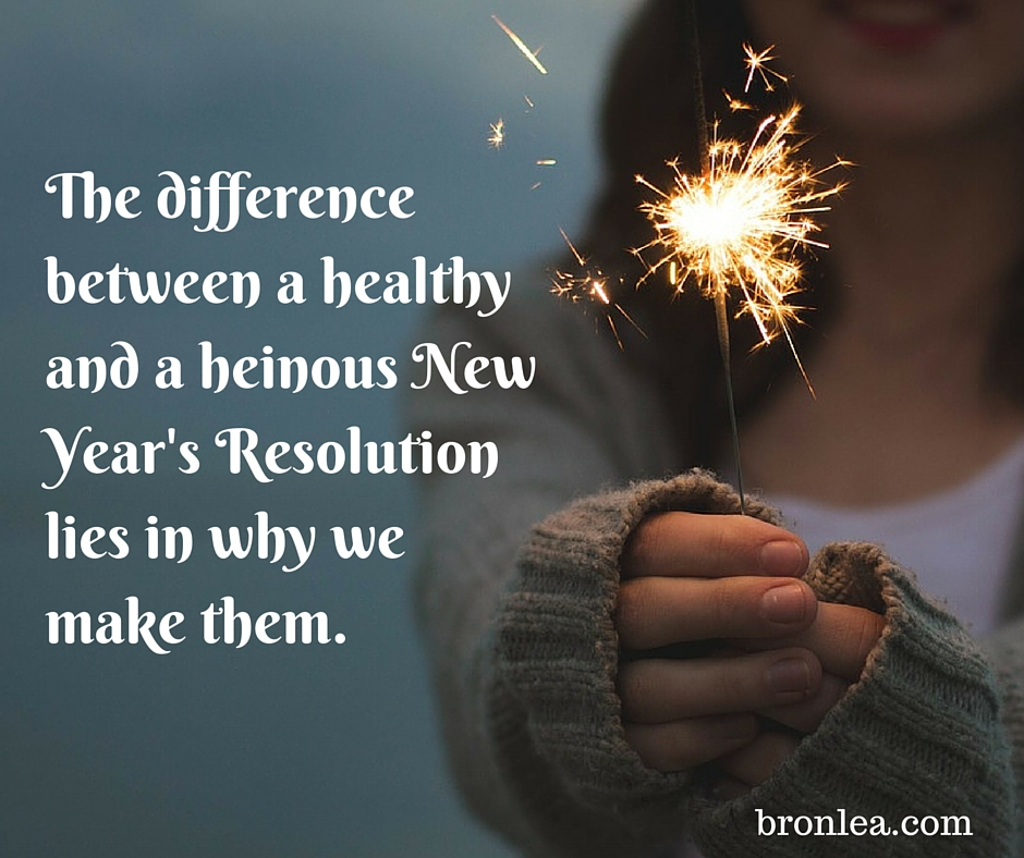 how to make healthy new years resolutions